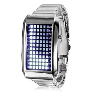 Светодиодные бинарные часы 72 LED