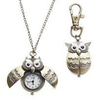 Женские часы-подвеска «Сова»
