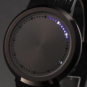 Светодиодные сенсорные часы «Бездна»