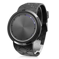 Cветодиодные сенсорные часы «Бездна»